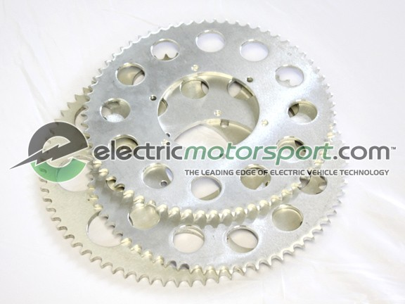 Custom Machined Aluminum Driven Sprocket