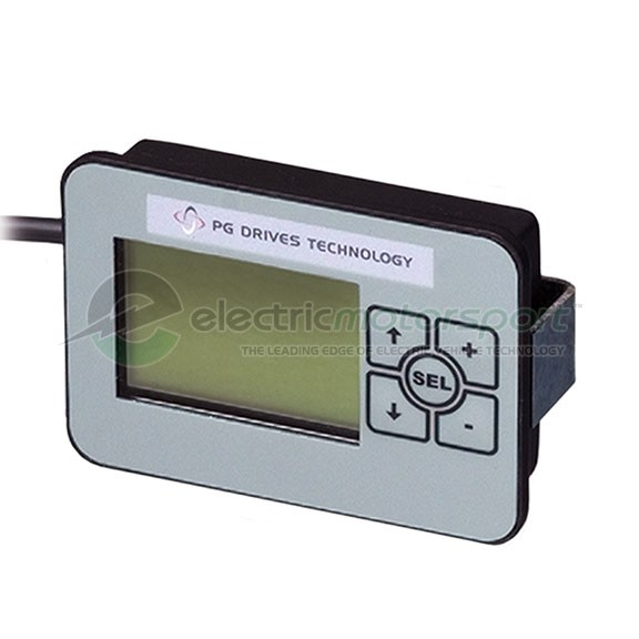 PG Drives Sigmagauge LCD Vehicle Display
