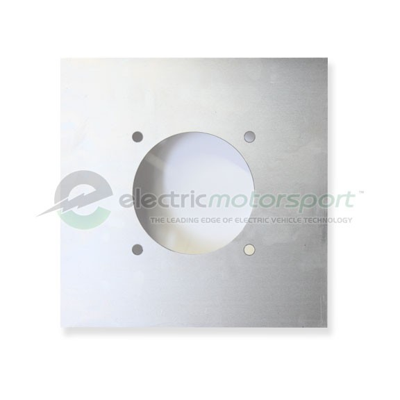 NEMA 143T C-Face .125-inch Weldable Steel Motor Mounting Plate