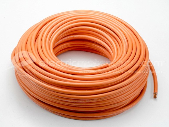 Orange Welding Cable 4 AWG