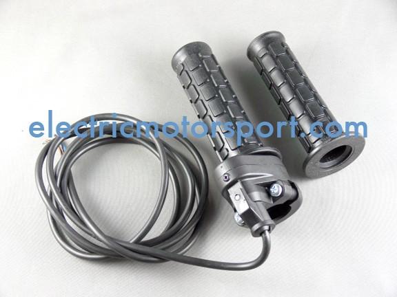 Magura Twist Grip Throttle w/ Matching Grips