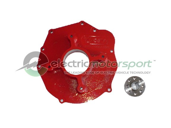 TOYOTA 1ZZ & 2ZZ Adapter Plate w/ Hub for WARP, HPEV AC31 / AC50 / AC75 and ADC Motors