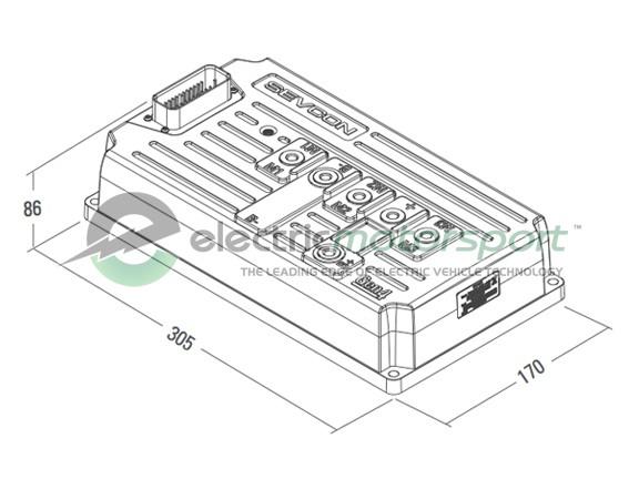 Pmac G4865 36 48v 650a Motor Drive System