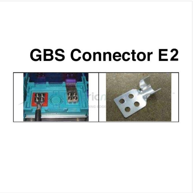 GBS Terminal Lug E2 for 4 AWG to 1/0 AWG 2 MM Thick