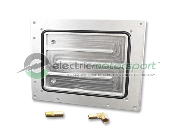 HPEVS Chiller Plate System for Curtis AC Controller