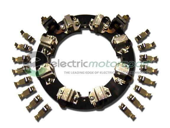 Motenergy ME1013 Brush Set / Holder (for ME1003, ME1008, ME1007, and ME1004)