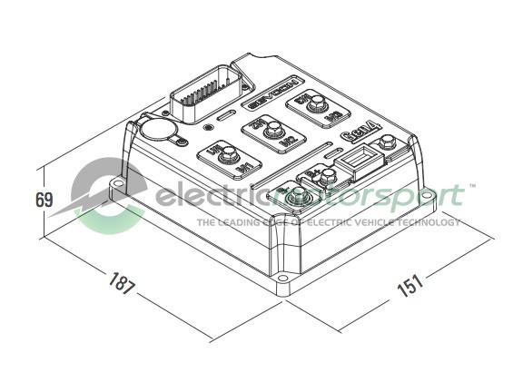 48v 275a Motor Drive System