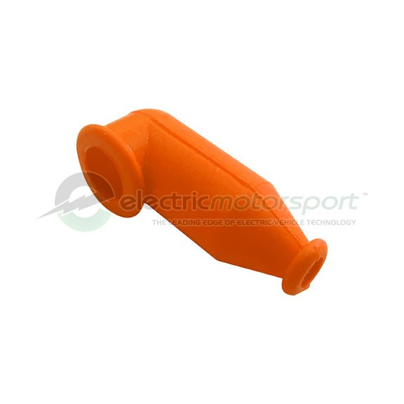 Silicone Rubber Terminal Boot - Bright Orange