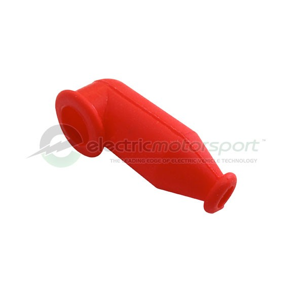 Silicone Rubber Terminal Boot - Bright Red