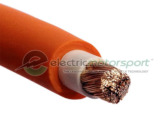 Orange Welding Cable 1/0 AWG