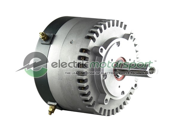 Motenergy ME1004 PMDC Motor, 24-48V, 10.75 hp cont, 21 hp pk